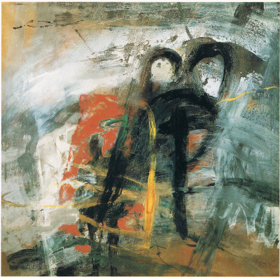 an interval of history, 1993,   200 X 200 cm