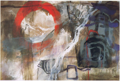 an interval of history I, 1993,   200 x 300 cm