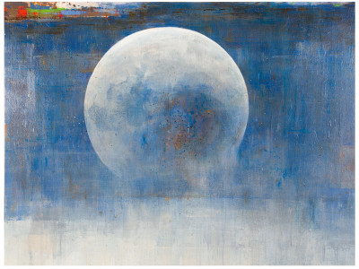 Moon, 2011, Mixed Media, 41x54 in