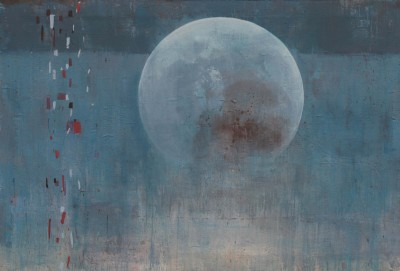 Moon, 2011, Mixed Media, 41x54 in.